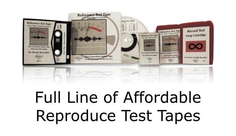 Full Line of Test Tapes