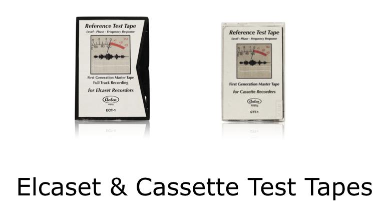 Elcaset & Cassette Test Tapes